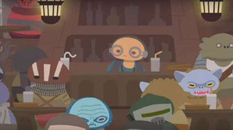 Maz Kanata au centre du dernier épisode de Star Wars Roll Out