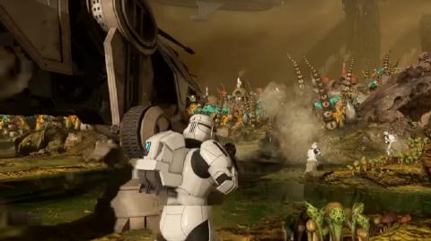 Des images de Felucia avant la mise à jour de Battlefront II