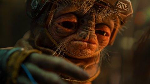Découvrez Babu Frik, nouvel alien de l'Ascension de Skywalker