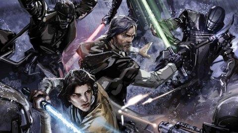 Luke Skywalker & Ben Solo affrontent les Chevaliers de Ren chez Marvel