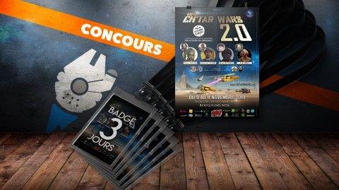 Concours : Gagnez vos pass 3 jours pour la convention Ch'tar Wars 2.0
