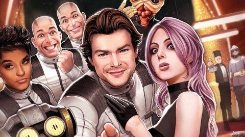 Review : Han Solo : Cadet Impérial, chez Panini