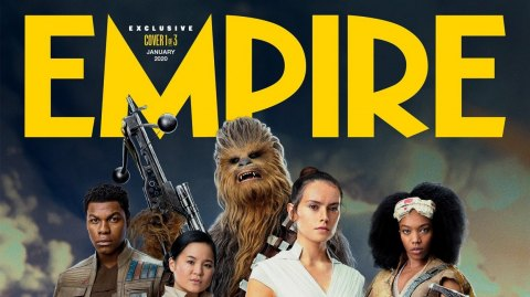 Les couvertures du magazine EMPIRE pour L'Ascension de Skywalker