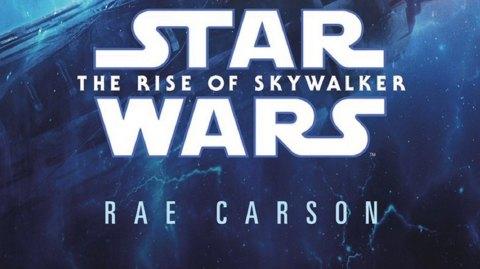 Une couverture pour la novélisation de l'Ascension de Skywalker