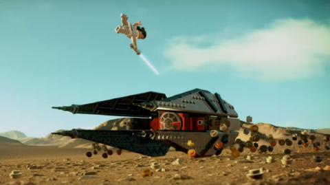Un trailer pour le jeu vidéo Lego Star Wars : The Skywalker Saga
