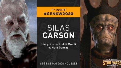 1er invité pour Générations Star Wars à Cusset !