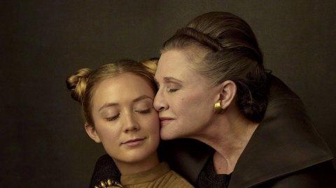 Billie Lourd à aussi joué le rôle de Leia dans l'épisode IX