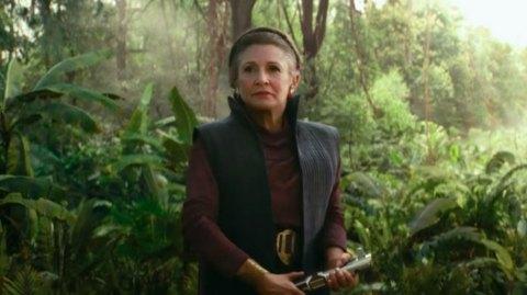 L'Ascension de Skywalker: les apparitions de Leia