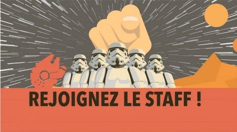 Rejoignez le Staff de Planète Star Wars !