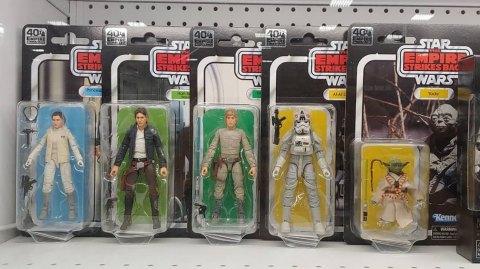 Les figurines HASBRO 40e anniversaire sont disponibles