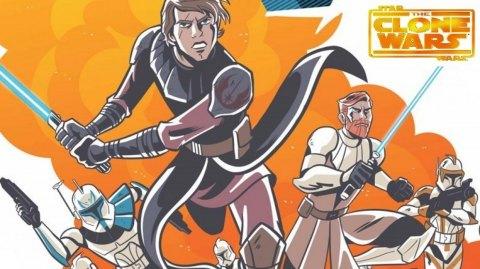 Une série de comics pour The Clone Wars!