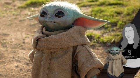 Bébé Yoda débarque à taille réelle chez Sideshow