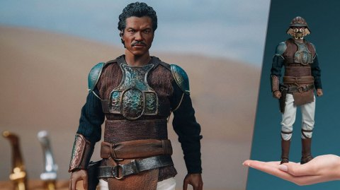 Lando Calrissian version retour du Jedi par Sideshow en précommande