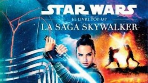 La Saga Skywalker en livre Pop-Up