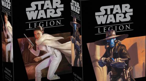 Padmé & Cad Bane arrivent dans le Jeu Star Wars Legion