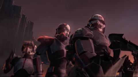Le Nouveau  Trailer  'The Clone Wars' met en avant le Bad Batch