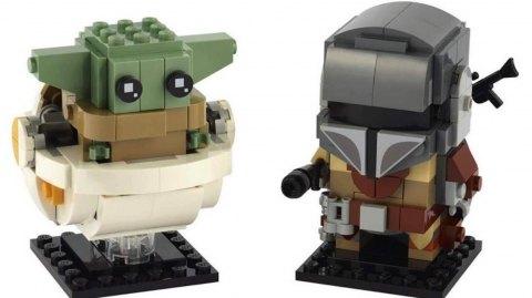 Le Child et Le Mandalorien Révélés en briques LEGO