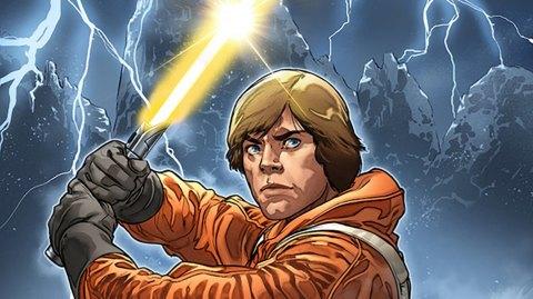 Un sabre laser jaune pour Luke Skywalker chez Marvel