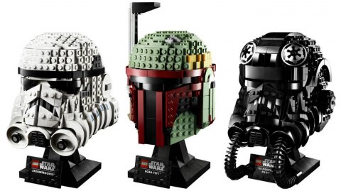 Lego se lance dans les casques Star Wars