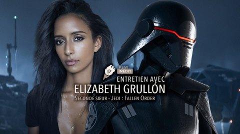 Entretien avec Elizabeth Grullon (Deuxième Soeur du jeu Fallen Order)