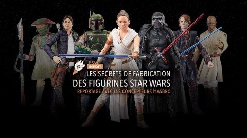 Reportage sur la création des figurines Star Wars Black Series Hasbro