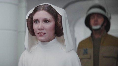 Leia aurait pu avoir un rôle plus important dans Rogue One