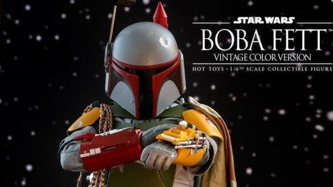 Hot Toys propose une nouvelle figurine de  Boba Fett Vintage !