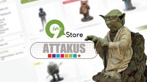 Des statuettes Attakus en promotion avec 9ème Store