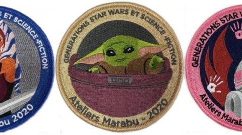 Des patchs caritatifs avec Générations Star Wars et SF à Cusset