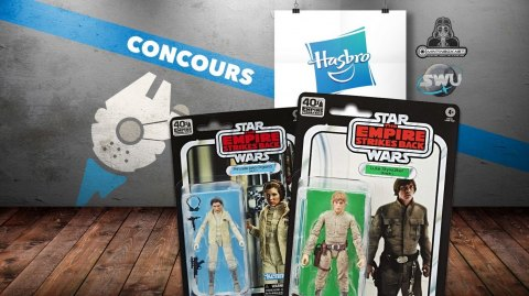 CONCOURS : Gagnez des figurines Hasbro Black Series Star Wars 40th ESB