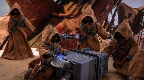 Hot Toys présente son Jawa et Gonk Droid