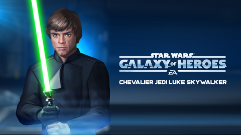 Le Chevalier Jedi Luke Skywalker débarque sur Galaxy of Heroes