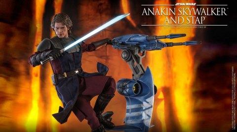 Anakin Skywalker et son STAP débarquent chez Hot Toys