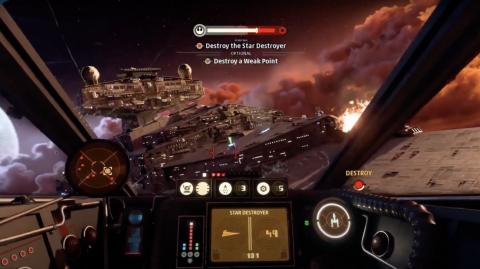 Star Wars Squadron se dévoile un peu plus avec une video gameplay