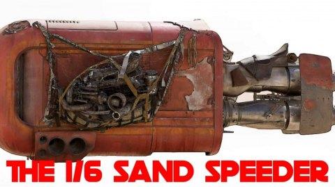 Le speeder de Rey et le Snowspeeder en 1/6 ème chez Jazzinc Diorama