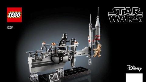 Lego fête l'empire contre attaque avec le duel Luke/Vador sur Bespin