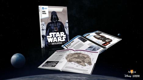 Collectionnez les volumes de l'encyclopédie Star Wars Altaya