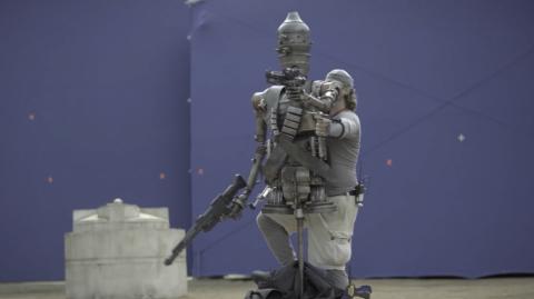 Les secrets de fabrication d'IG-11 pour The Mandalorian