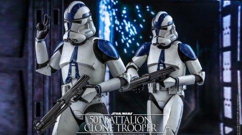 Hot Toys présente la 501ème légion de Clone Wars