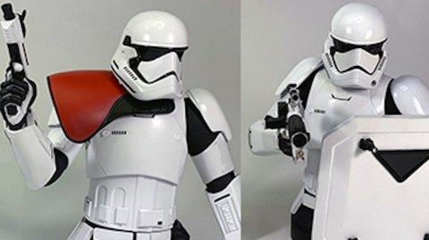 Gentle Giant : Mini Bustes Stormtrooper du 1er Ordre et Ponda baba