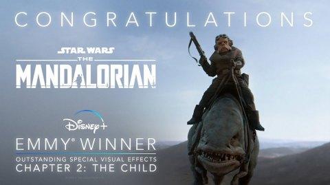 5 Emmy Awards pour The Mandalorian !