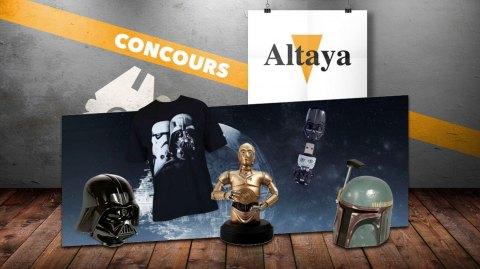 Altaya : Un quiz Star Wars pour gagner des cadeaux