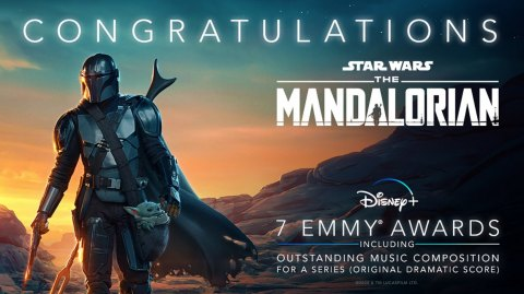 2 récompenses de plus pour The Mandalorian aux Emmy Awards