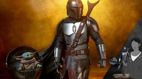 Sideshow Collectibles The Mandalorian en statue Premium Format