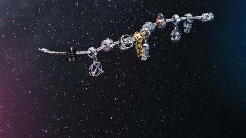 Pandora présente sa nouvelle collection de bijoux Star Wars