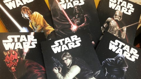 Des albums de comics Star Wars à 2.99 euros chez Carrefour !