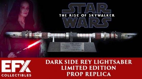 Sideshow ouvre les précommandes du sabre de Rey par EFX