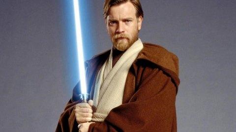 Ewan McGregor à pu tester son ancien costume d'Obi-Wan