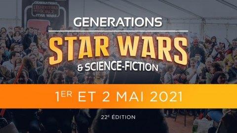 Les dates de la convention Générations Star Wars et SF à Cusset 2021 !