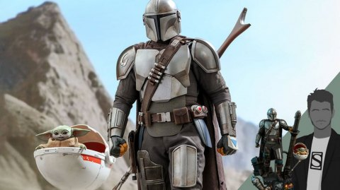 The Mandalorian & The Child Deluxe en figurine 1/4